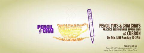 Pencil  & Chai 7th Section @ Cubbon