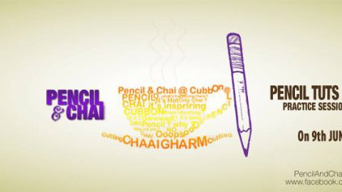 Pencil  & Chai 7th Section @ Cubbon