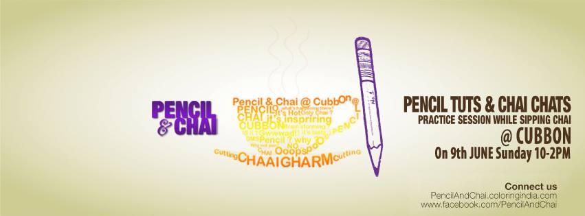 Pencil  & Chai 7th Section @ Cubbon Pencil  & Chai 7th Section @ Cubbon 7th session