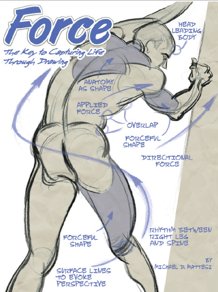 FORCE-The key to capturing life through drawing FORCE-The key to capturing life through drawing Force book cover