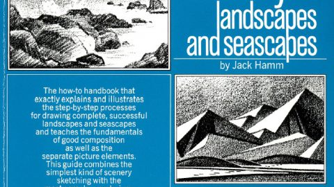 Drawing Scenery Seascapes And Landscapes |Jack Hamm