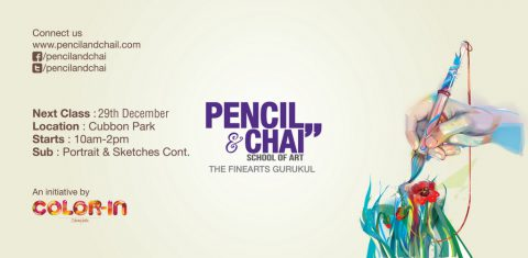 Learn Pencil Drawing with us- PAC 32nd session