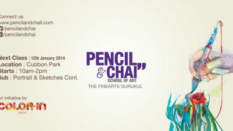 Portrait drawing- Pencil&Chai 33rd  session