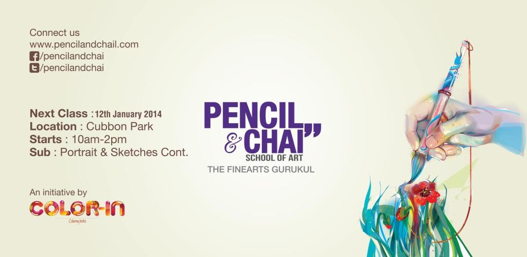 Portrait drawing- Pencil&Chai 33rd  session Portrait drawing- Pencil&Chai 33rd  session 33rd