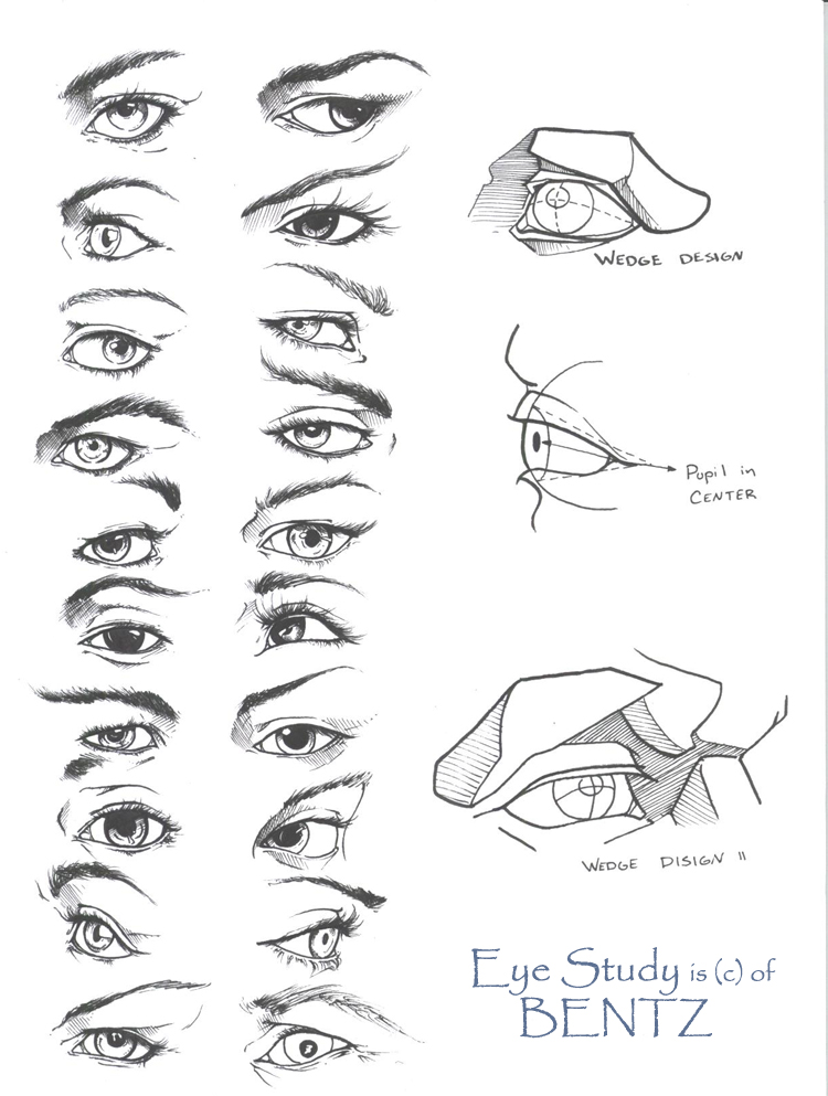 Eye drawing tutorial by Sariel 6