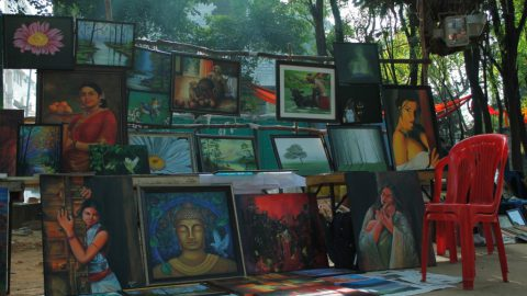 A budding artist from Pencil And Chai found his berth in Chitra Santhe…