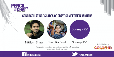 "Congratulating ""Shades Of Gray"" Competition Winners !"