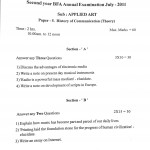 Question Paper Collection 2011 - 2nd year BFA  Question Paper Collection 2011 – 2nd year BFA  Question paper Applied Art 2011 7 150x150