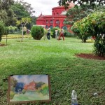 Landscape drawing at Cubbon Park 2