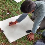 Landscape drawing at Cubbon Park 8
