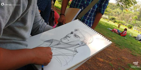 Fine Arts Education in Bangalore weekend art classes Fine Arts Education We Offer Human Anatomy Sketching Learing In Banaglore