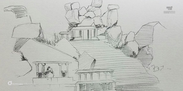 Learn landscape or nature sketching weekend art classes Fine Arts Education We Offer Landscape sketching module by Pencil And Chai