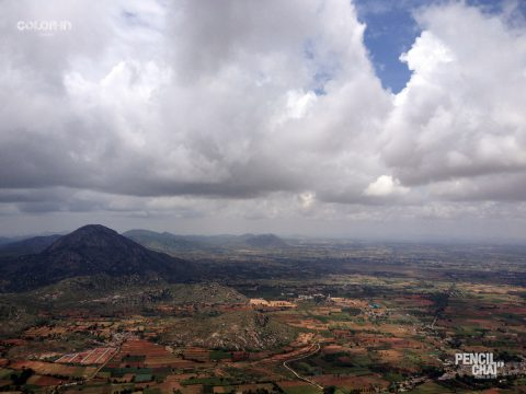 LandScape Drawing Session At Nandi Hills