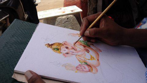 Streets, Pots and Lord Ganesha    PAC 63