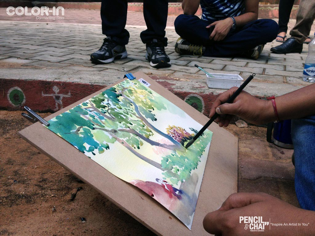 outdoor drawing Landscape outdoor drawing class IMG 0494 copy
