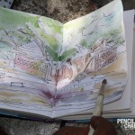 Landscape outdoor drawing class 6