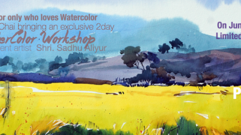 """Hues Of Watercolour"" With Shri.Sadhu Aliyur #PAC100"