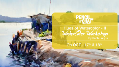 Art Workshops in Bangalore-Hues Of Watercolor 2 Updates