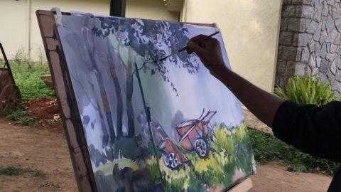Hues of Watercolor-II a watercolor workshop