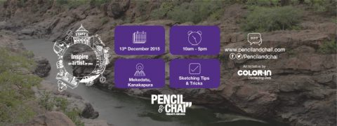 Pencil And Chai Weekend Art Workshops – Watercolor Painting  @ Mekedatu
