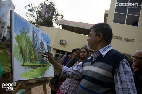 Hues of Watercolor 3, A Structured  Watercolor Workshop by Milind Mulick!
