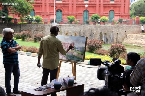 Hues of Watercolor 5, A Structured Watercolor Workshop by Sadhu Aliyur