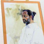 painting workshop Hues of Watercolor 6 Painting Workshop in bangalore-Vasudeo Kamath IMG 2622 150x150