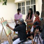 Hues of Watercolor 6 Painting Workshop in bangalore-Vasudeo Kamath 10