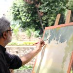 Hues of Watercolor 6 Painting Workshop in bangalore-Vasudeo Kamath 11
