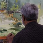 Hues of Watercolor 6 Painting Workshop in bangalore-Vasudeo Kamath 12