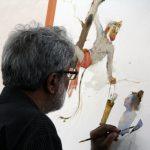 painting workshop Hues of Watercolor 6 Painting Workshop in bangalore-Vasudeo Kamath IMG 3002 150x150
