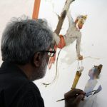 Hues of Watercolor 6 Painting Workshop in bangalore-Vasudeo Kamath 16