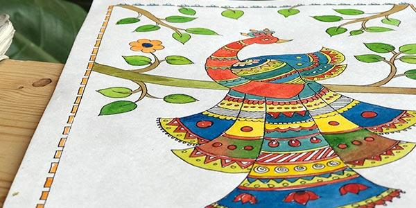 Madhubani-Painting-Classes-in-Bangalore