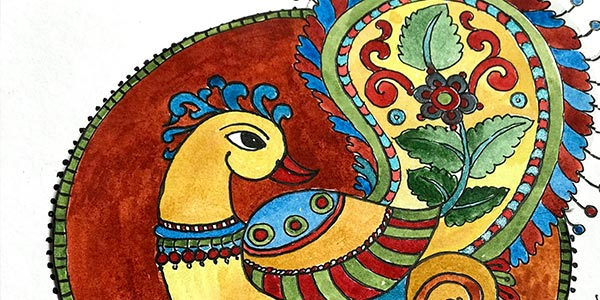 kalamkari-Painting-Classes-in-Bangalore