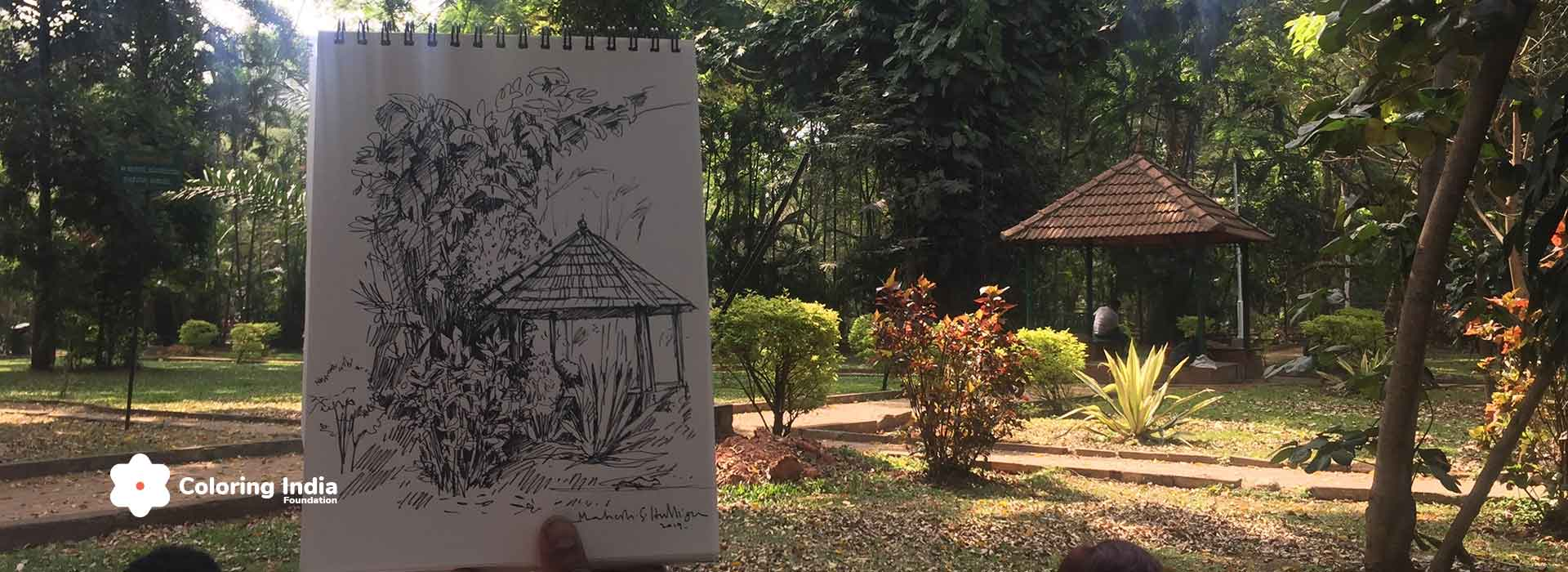 Outdoor Realistic Sketching/Painting Courses on Weekends