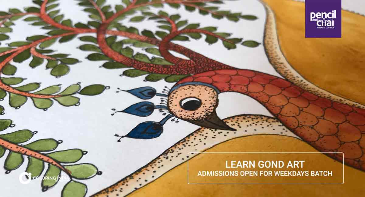 How To Draw Gond Art