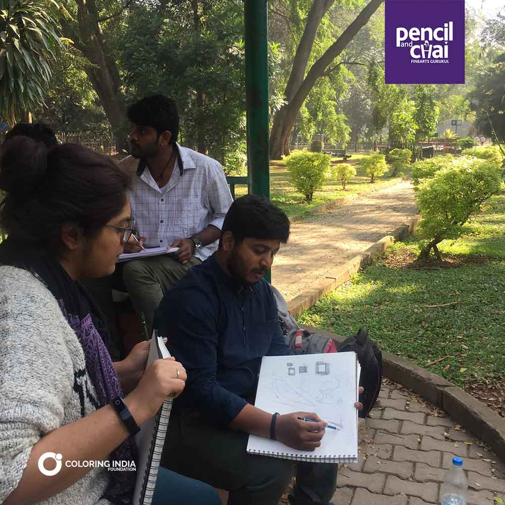 Pencil And Chai Fine Arts Gurukul : Learn Fine Arts in Structured Way!