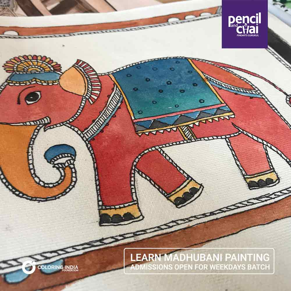 Madhubani-Painting-Classes-by-Pencil-And-Chai