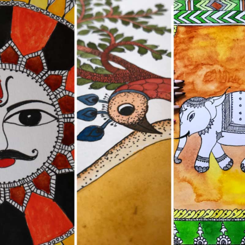 Folk Art Painting Courses in Bangalore