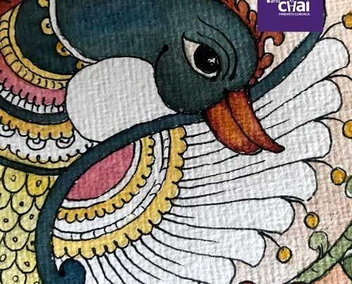 Folk arts - Madhubani, Kalamkari, Gond art classes in Bangalore by Pencil And Chai