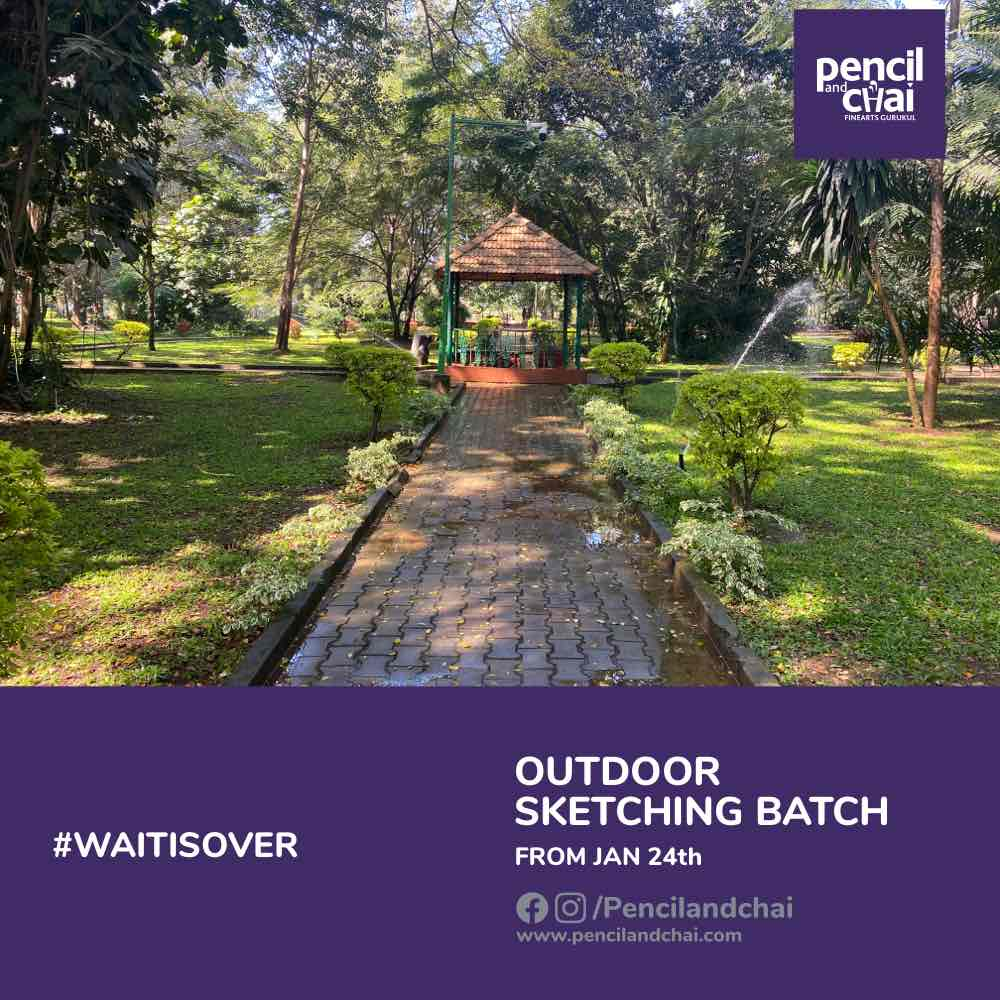 Outdoor New Sketching Classes by Pencil & Chai
